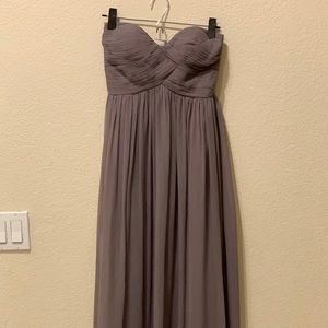Dresses & Skirts - Long, chiffon bridesmaid dress